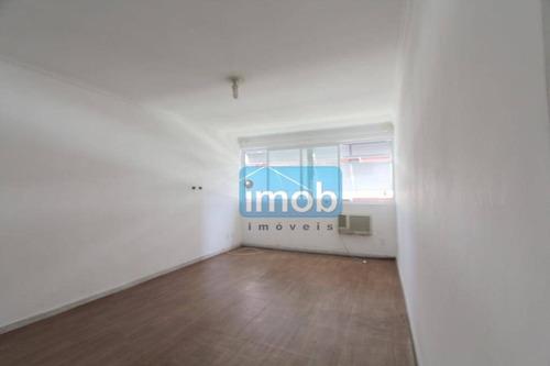 Imagem 1 de 19 de Apartamento À Venda, 106 M² Por R$ 480.000,00 - Gonzaga - Santos/sp - Ap7203