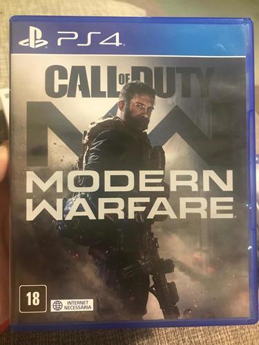 Call Of Duty Modern Warfare - Ps4 Mídia Física