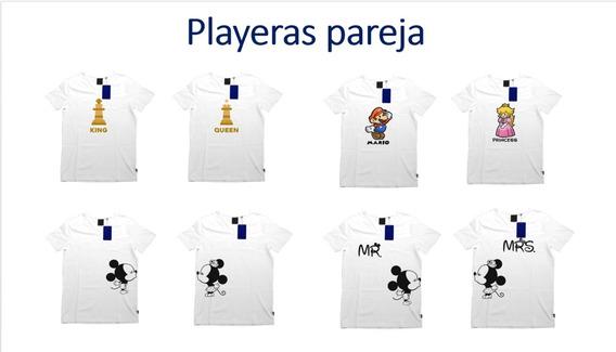 Paquete 2 Playeras 14 De Febrero, Personaliza Tu Playera
