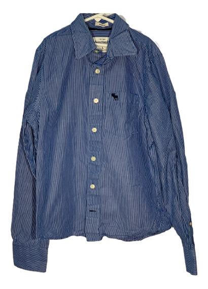 Ht Camisa L Abercrobie Id D448 U Niño Remate!