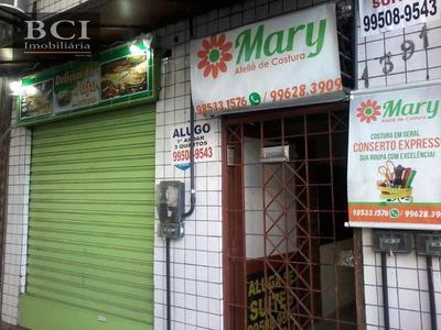 Casa Comercial No Espinheiro Para Alugar, 140 M² Por R$ 1.500/mês - Espinheiro - Recife/pe - Ca0071