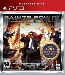 Saints Row Iv National Treasure Edition Ps3 Mídia Física