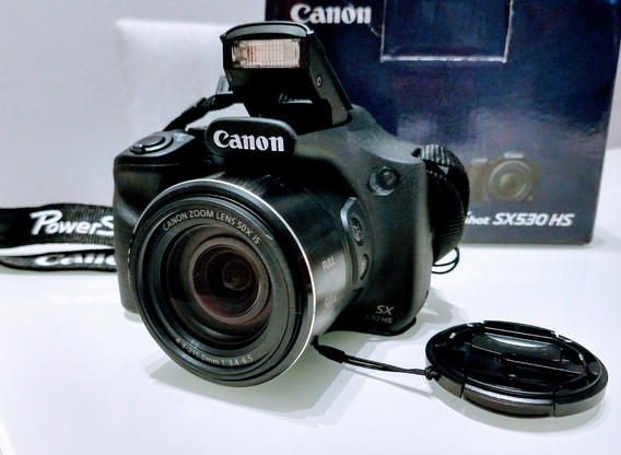 Câmera Canon Powershot Sx530 Hs 16mp Tela 3.0 Zoom 50x