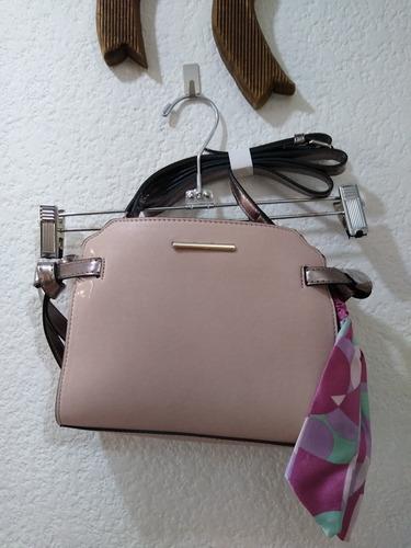 Imagen 1 de 3 de Bolsa Mariconera Rosa Elegante