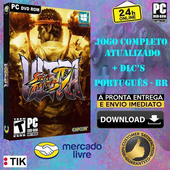 Ultra Street Fighter Iv - Completo - Português Br - 2 Por 1