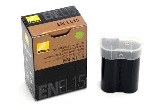 En-el15 Nikon D7000 D7100 D7200 D800 Bateria
