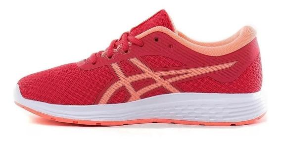 Zapatilla Asics S Running Mujer Patriot 11 Rosa - Coral Ras