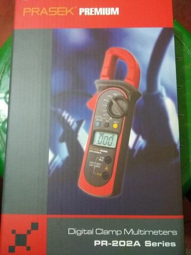 Pinza Amperimétrica Prasek Premium