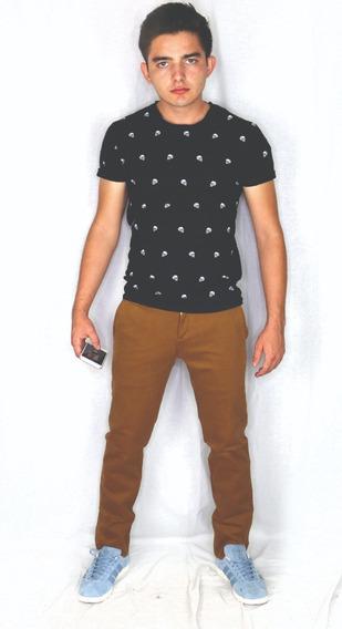 Pantalon Casual Caballero Gabardina Diferente Colores