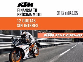Ktm Rc 200 0km Blanca 2017 - Ktm Palermo