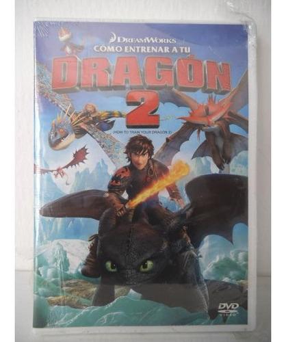 Como Entrenar A Tu Dragon 2 Dvd