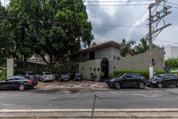 Comercial, 434 M² Ao Lado Do Parque Ibirapuerapor R$ 45.000/mês - Vila Nova Conceição - São Paulo/sp - So1651