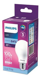 Lâmpada Led Bulbo 16w = 100w 1521lm Bivolt Philips