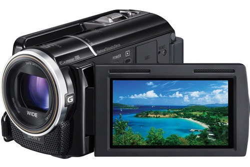 Filmadora Sony Hdr-xr260v 160gb Bateria Extra E Sacola Sony