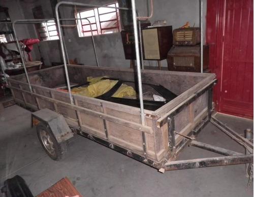 Carretinha Para Quadriciclo / Triciclo  Basculante
