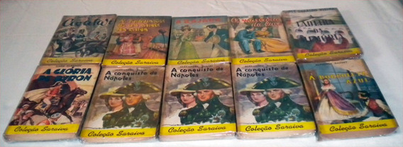 Romances Antiga Coleção Saraiva Preço P Cada Livro Avulso /