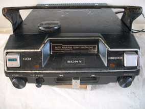 Radio Toca Fita Antigo Sony (678)