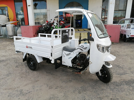 Motocarro Con Cabina 200cc Y Reversa Mod 2020
