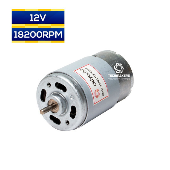 Micro Motor Alta Velocidade 12v 18200rpm 64w Pronta Entrega