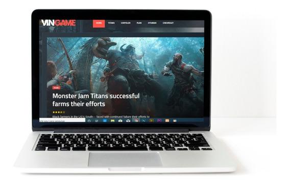 Site De Noticias Jogos Wordpress Fácil De Instalar