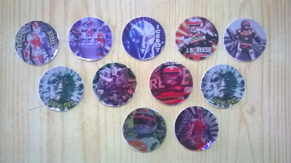 Lote 11 Tazos Pepsico Vr Troopers