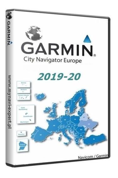 Atualização Garmin City Navigator Europa Ntu 2019.20