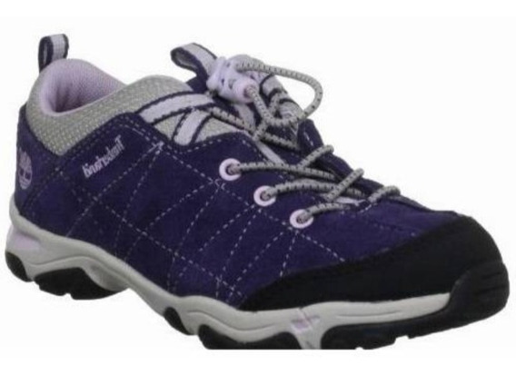 Tênis Infantil Timberland Trail Force Bungee Ox Roxo Origina