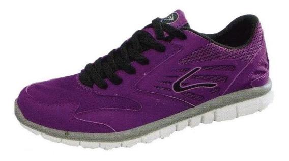 Zapatillas Dunlop Running Lite Motion Karmic Mujer - Olivos