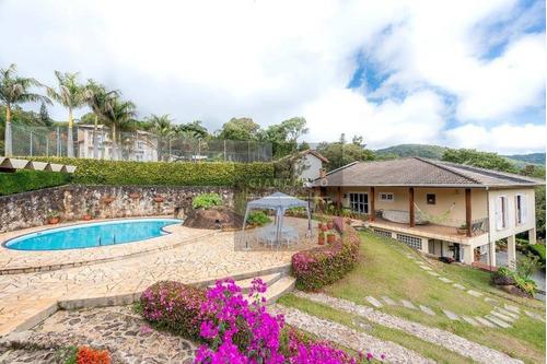 Chácara Com 6 Dormitórios À Venda, 5034 M² Por R$ 2.300.000,00 - Clube Da Montanha - Atibaia/sp - Ch0215