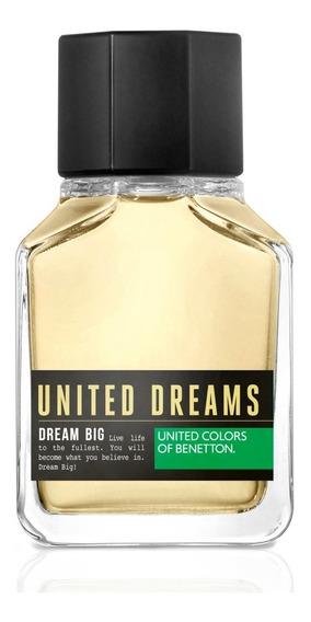 Benetton Dream Big Man Eau De Toilette - Perfume Masculino 200ml Original