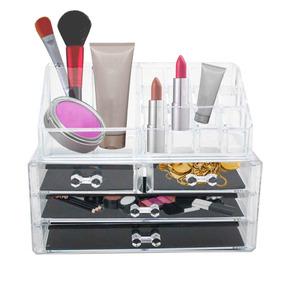 Organizador De Maquiagem Porta Batom Acrílico 20 Divisórias