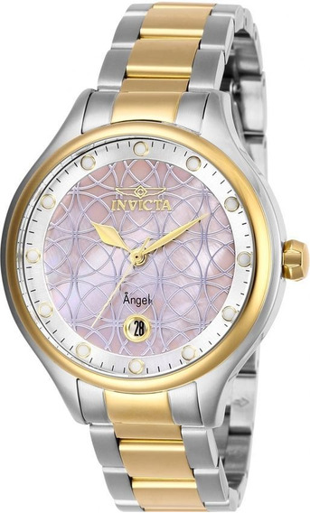 Invicta - Reloj 27766 Angel Quartz Stainless-steel Strap Par
