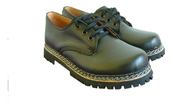 Zapatos Dirty Boots Cuero, Eco Base Simple T34-40 Unisex