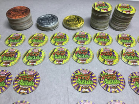 Super Lote Com 150+ Tazos Mascara !