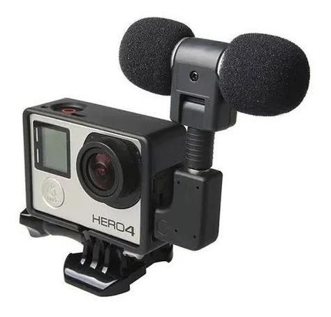 Microfone Stereo Gopro Hero 3+ Hero 4 - Kit Stereo Gopro