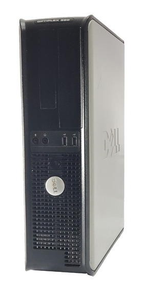 Desktop Dell Optiplex 380 7500 2,93 4gb Hd 320gb Win10 + Dvd