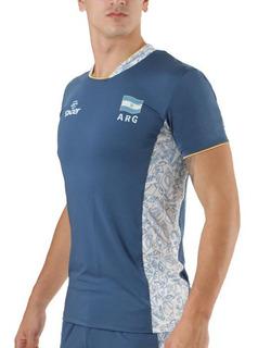 Camiseta Oficial Voley 2019 Selección Arg Sonder Azul 444i097