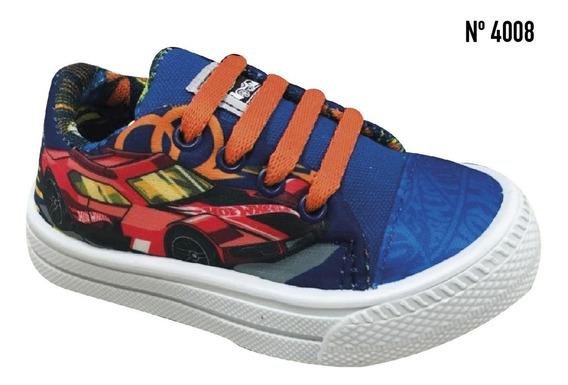Zapatillas Para Niños Hot Wheels, Originales!!