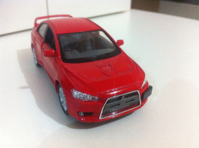 Miniatura Carro - Mitsubishi Lancer Evolution