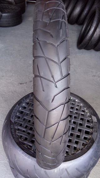 Pneu 90/90/21 Pirelli Scorpion Trail Usado Bom Falcon Xre