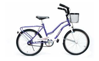 Bicicleta Playera Niña Rodado 20