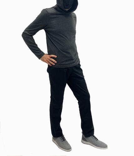 Pantalón Casual Black  + Tapaboca Bicapa Onpants