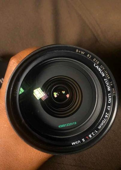 Canon. 24/70 Lll. 2.8. Funcionando Numero Cl. L Ar Foto 1
