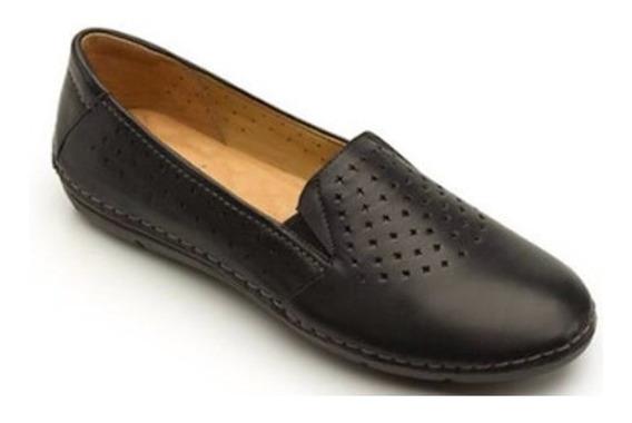 Flexi Zapato Dama Mocasín Confort Descanso Piel Talla 27 C81