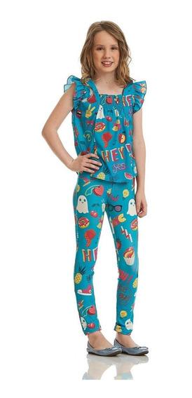 Calça Acostamento Infantil Fashion Estampado