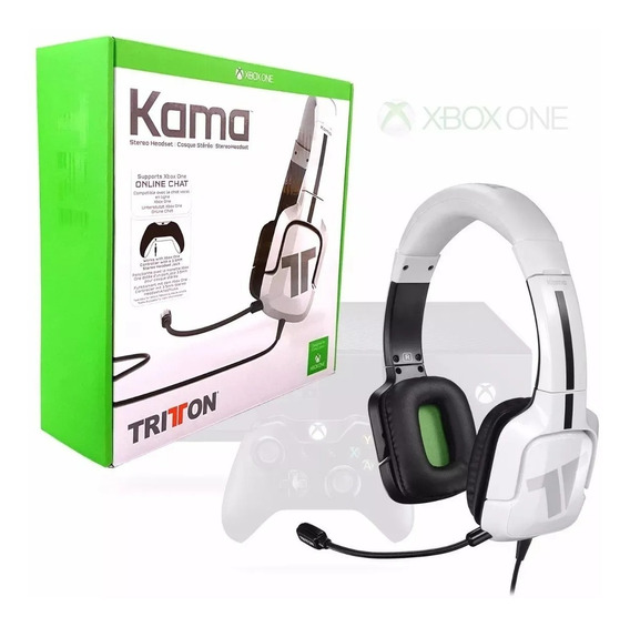 Headset Tritton Kama Branco Xbox One
