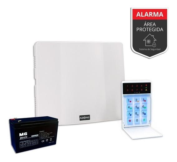 Alarma Para Casa+ Batería+cartel