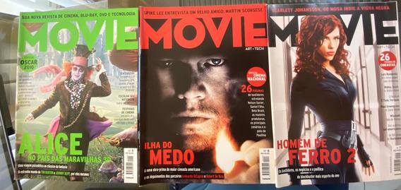 Revista Movie. Edições 5, 6 E 7.