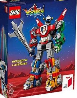 Lego 21311 Voltron Para Mas De 16 Años 2321 Piezas