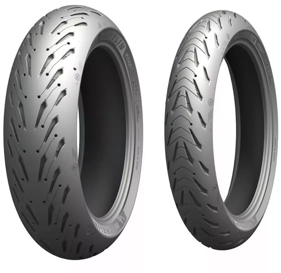 Par Pneu 120/70-17+190/50-17 Michelin Pilot Road 5